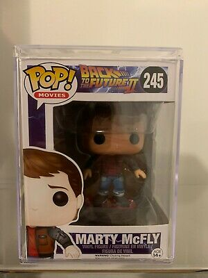 $ CDN91.24 • Buy Funko POP Back To The Future #245 Marty McFly Hoverboard With Hard Stack