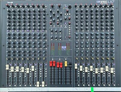 Soundcraft LX7 16 Channel Mixing Desk With Flight Case • 300£