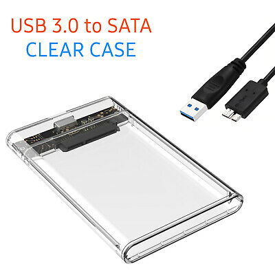 £6.59 • Buy USB 3.0 To SATA Hard Drive Enclosure Caddy External Case For 2.5  Inch HDD SSD