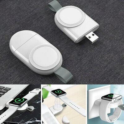 $ CDN1.64 • Buy For Apple Watch IWatch Series 1 2 3 4 5 Magnetic Charging Dock USB Cable Charger