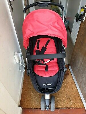 Obaby Chase 3 Wheeler Pramette (Red) - Used But In Very Good Condition • 50£