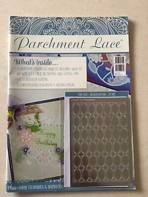 Parchment Lace Magazine With Free Tattered Lace Parchment Grid  • 6.75£