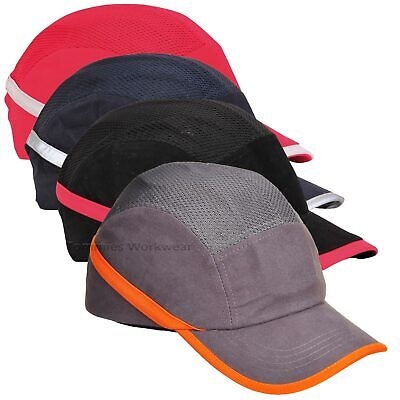 Bump Cap Safety Baseball Cap Hard Hat Work PPE Impact Resistant ABS Shell EVA • 11.99£