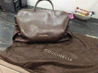 Coccinelle Brown Leather Bag • 45£