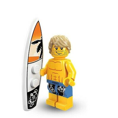 Lego Minifigures Series 2 Surfer Minifigure With Accessories • 9.99£