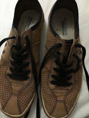 Fred Perry Bradley Wiggins Casual Brown Lace Up Shoes Size 7  • 3.30£