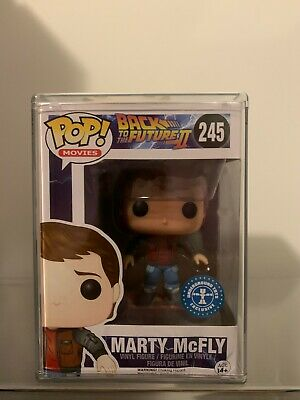 $ CDN156.40 • Buy Funko POP Back To The Future #245 Marty McFly Hoverboard With Hard Stack.