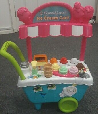 LeapFrog Scoop & Learn Ice Cream Cart, Used, Excellent Condition. • 20£
