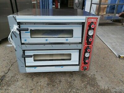 COBOL PBT 2680- ELECTRIC PIZZA OVEN Commercial Double Deck 3 Phase Electric Oven • 1,399£