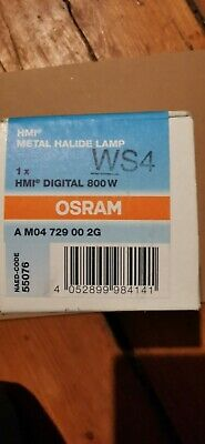 Stage Lighting Osram HMI Digital 800W Lamp WS4 UVS • 75£