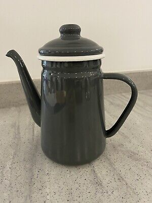 Garden Trading Enamel Coffee Pot..hardly Used Immaculate • 10£