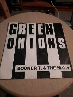 Booker T And The Mgs Green Onions 7  Vinyl • 4£