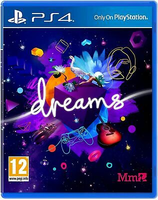 AU35.65 • Buy Dreams PS4 PlayStation 4 Game - Adventure Kids Family Friendly Fun GIFT IDEA