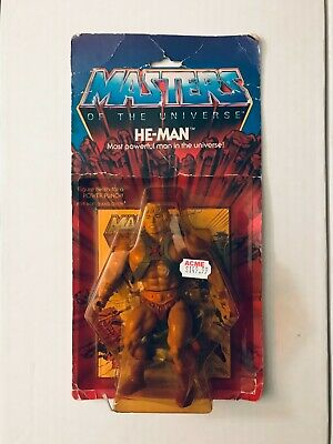$649.95 • Buy 1982 Mattel Masters Of The Universe He-Man Mint On Original Card MOC 12-Back