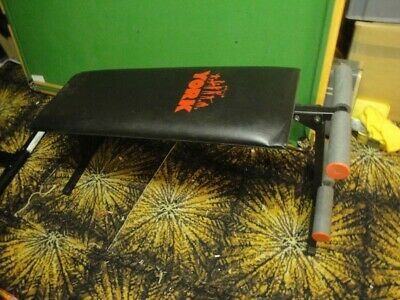 A Robust York Fitness Foldable & Adjustable Sit-Up Bench • 15£