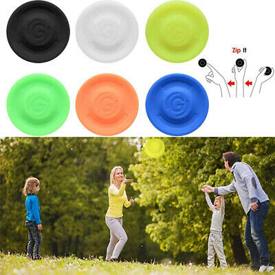 £5.22 • Buy Mini Zip Chip Flexible Soft Spin Zipchip Outdoor In Catching Game Flying Disc