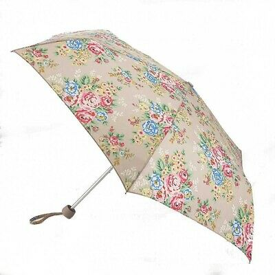 Bnwt Cath Kidston Fulton Floral Candy Flowers Minilite Folding Compact Umbrella • 9.99£