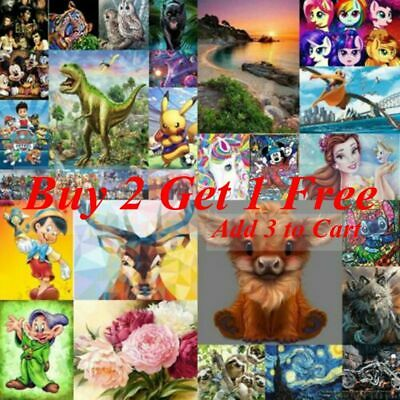 AU15.49 • Buy Full Drill 5D DIY Diamond Painting Cross Stitch Kits Embroidery Home Arts Gifts