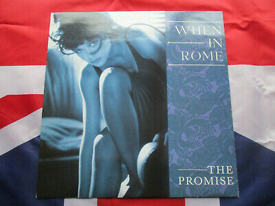When In Rome The Promise Original 1988 Ten Records Uk 2 Track 12  Vinly Single • 8£