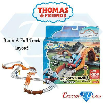 Thomas & Friends Children's Bends & Bridges Train Track Set With Walls Toy • 10.95£