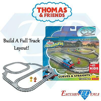 £10.95 • Buy Thomas & Friends Children's Curves & Straights Train Track Set With Loops Toy