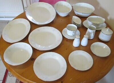 Vintage, Lovely  'noritake' Dinner & Tea Set, Casablanca 6842 -  99 Piece Set. • 175£
