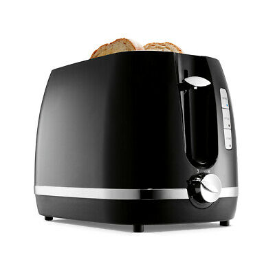 AU22.94 • Buy Anko 2 Slice Black Toaster 870W Defrost Reheat Cancel Buttons Bread Electric New