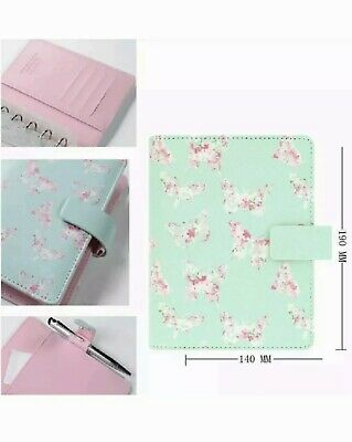 Filofax Butterflies Organiser Personal Size 027033 New FAST Delivery Green Pink • 6.70£