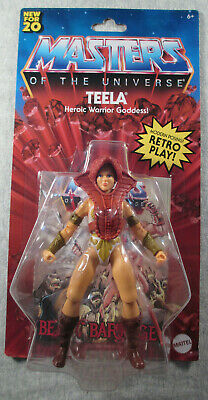 $19.99 • Buy Teela - Sealed 5.5  Inch Figure - MotU Masters Of The Universe Retro Play