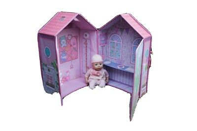 BABY ANNABELL Doll ~ BEDROOM House COT WARDROBE • 15£