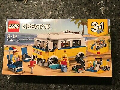 Lego Creator 3 In 1 31079. Age 8-12 Campervan Surfer, Brand New In Box  • 12.90£