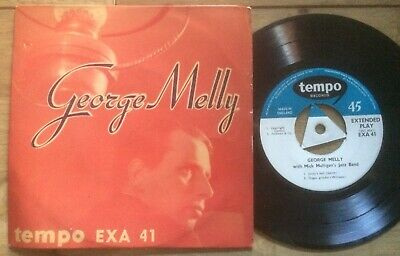 £5 • Buy GEORGE MELLY.1956 TEMPO LABEL E.P.+PICTURE COVER+MORE JAZZ EPs FROM ME ON EBAY!