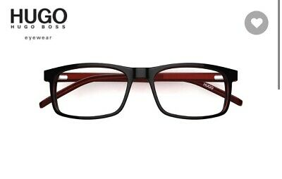 HUGO BOSS Eyewear  Optical Glass Frame -Leather Bag & Cloth Designer • 50£