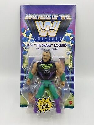$38.98 • Buy Jake The Snake MOTU Masters Of The WWE Universe Wave 4 UNPUNCHED Free Ship