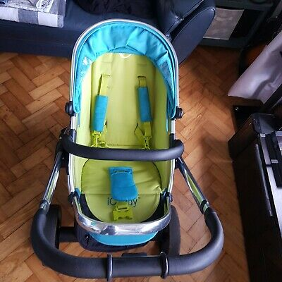 ICandy Peach Sweet Pea Pram And Carry Cot • 190£