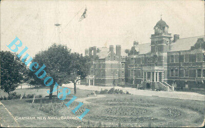 Chatham New Naval Barracks Posted 1905  • 4.20£