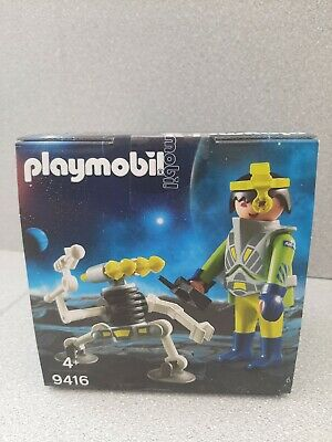 Playmobil Easter Egg 9416 Space Agent With Robot Spaceman Kid's Gift  • 8£