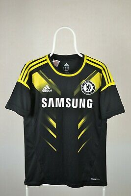 Chelsea London 2012/2013 Third Football Shirt Adidas Jersey Size Kids XL • 19.98£