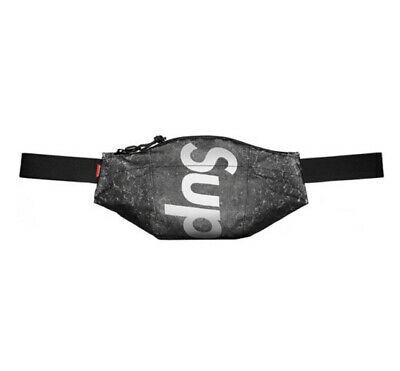 $ CDN138.08 • Buy Supreme Waterproof Reflective Speckled Waist Bag (black) Ss20 Backpack Shoulder