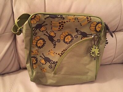 TRIPP Luggage (Debenhams) TRIPPy Green Animal Airline Style Bag (rarely Used) • 5£