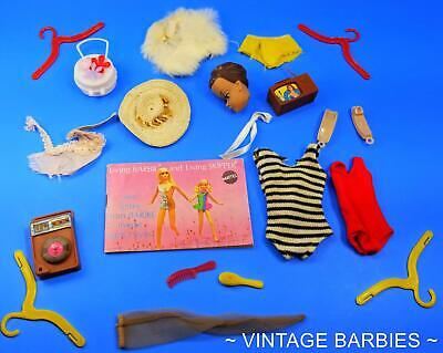 $ CDN16.86 • Buy Barbie Doll Mixed Accessories Lot #6 Excellent - TLC ~ Vintage 1960's