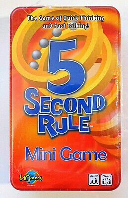 AU14.99 • Buy 5 Second Rule ~ Mini Game
