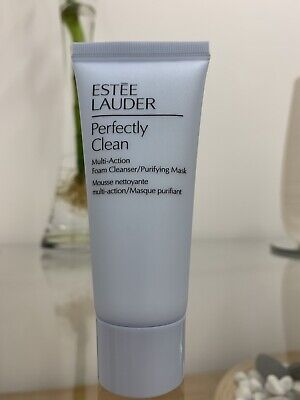 Estee Lauder Perfectly Clean Multi-Action Foam Cleanser / Purifying Mask 30ml • 3£