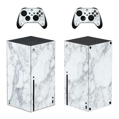 Vinyl Skin Stone Design Sticker Cover For Xbox Series X Console & 2 Controllers • 16.12£