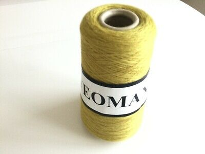 100% PURE MERINO WOOL 1 Ply POLO BY YEOMAN YARNS 240g,MACHINE WASHABLE SOUR LIME • 12£