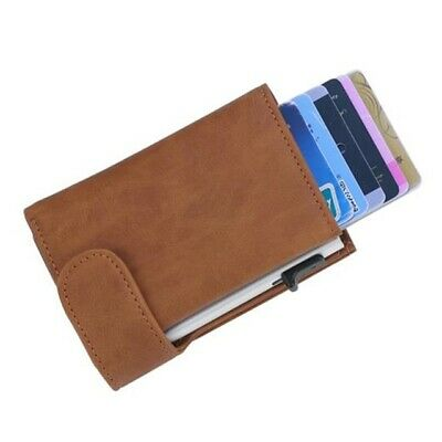 Rfid Credit Card Holder Case Protector Anti Theft Contactless Business Wallet • 14.80£
