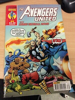 Marvel Avengers United Comic No 39 5th May 2004. • 1.99£