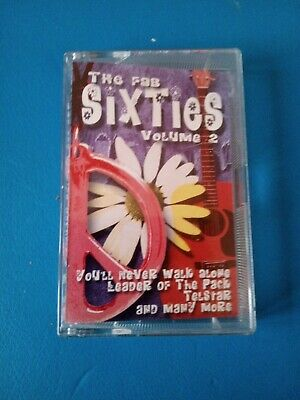 The Fab Sixties  CASSETTE TAPE Volume 2  • 3£