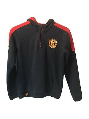⚽️MANCHESTER UNITED FC⚽️Official⚽️Boys Man Utd HOODIE⚽️Age 12-13 Years Old • 8.50£
