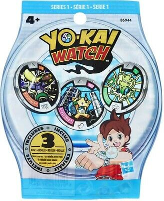 Yokai Watch -9  Medals Blind In 3 Bags  • 10.99£
